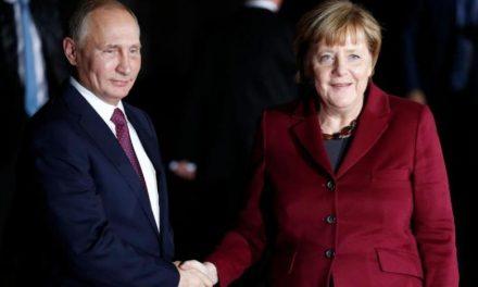 توافق مرکل و پوتین درباره پیشبرد روند سیاسی در سوریه