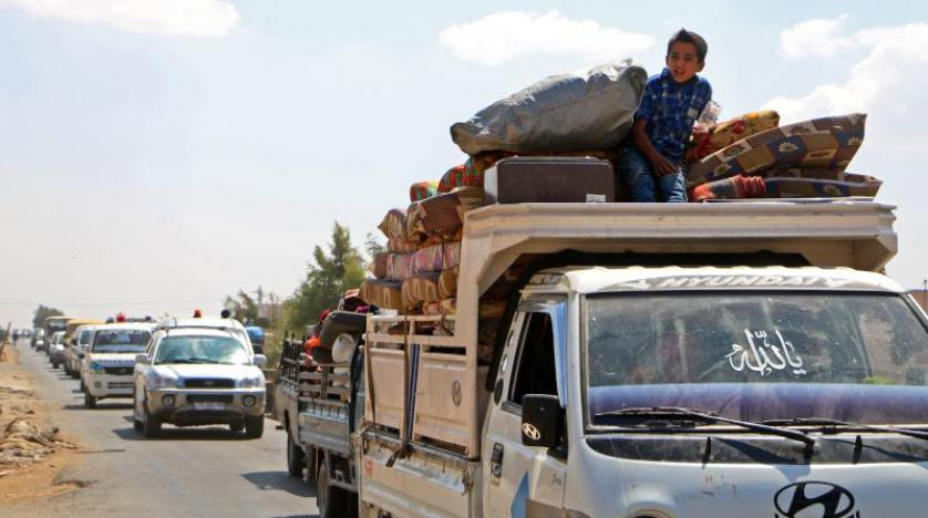 پس از خروج آمریکا؛ هزاران غیرنظامی از شرق فرات کوچ کردند