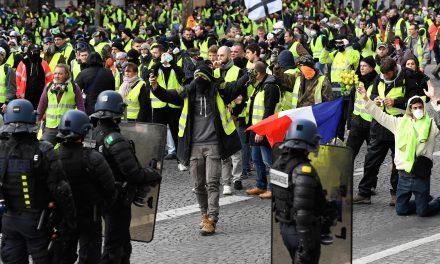 پاریس دوباره ناآرام شد؛ زد و خورد پلیس با «جلیقهزردها»