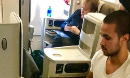 مسافران هواپیمایی «ایبریا» از وجود آنگلا مرکل در هواپیما شگفتزده شدند