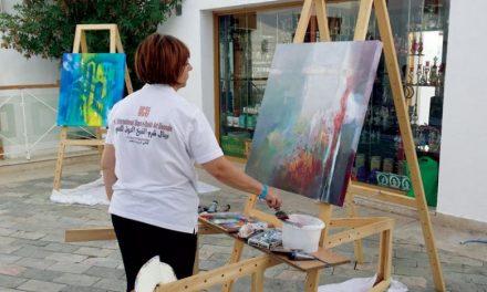 آغاز سومین بینال نقاشی در شرم الشیخ