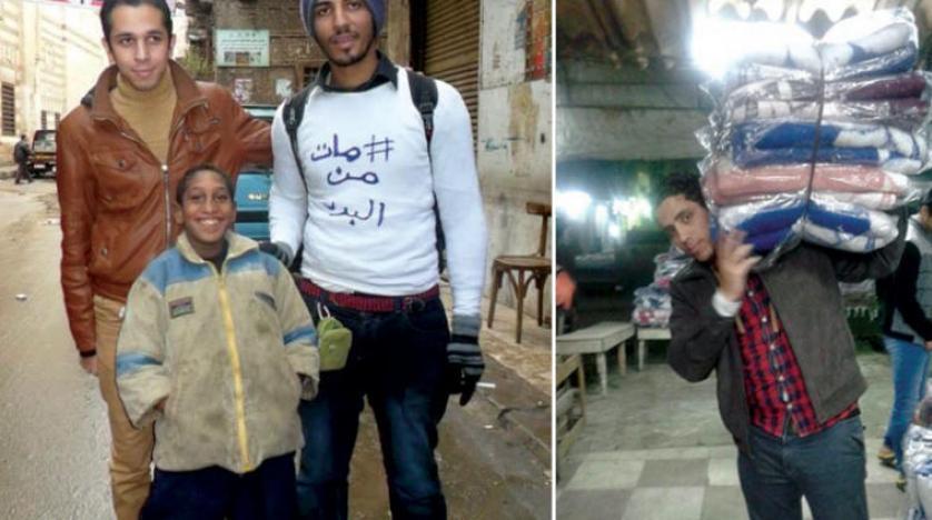 «از سرما میمیرد»… کمپینی در مصر برای کمک به آوارگان در سرمای زمستان