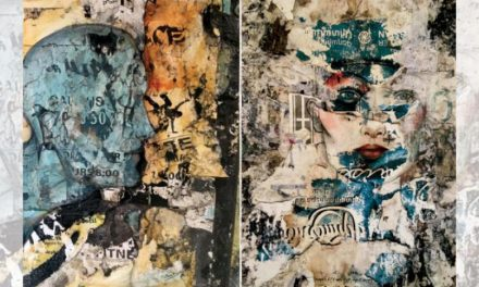 نمایشگاه «کبریت» سامی بصبوص… هنر حافظه بر روی کاغذ