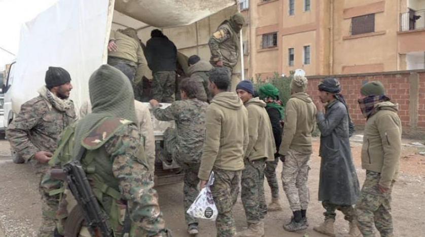 عناصر «داعش» از آخرین پناهگاه آنها در شرق فرات منتقل شدند