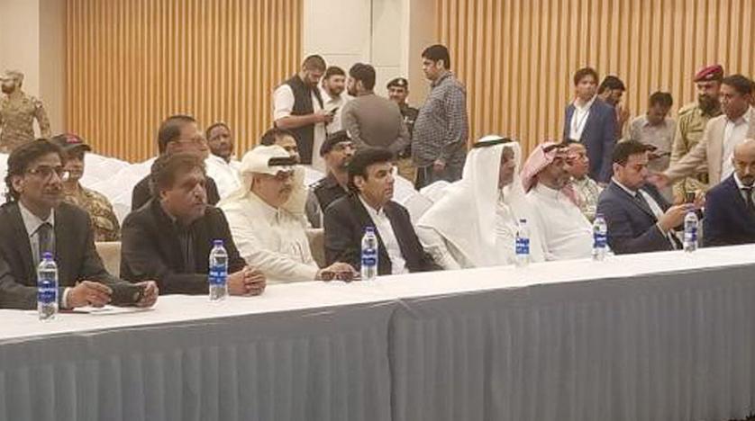 هیأت سعودی راهکارهای تقویت صادرات سعودی از طریق بندر گوادر پاکستان را بررسی کرد
