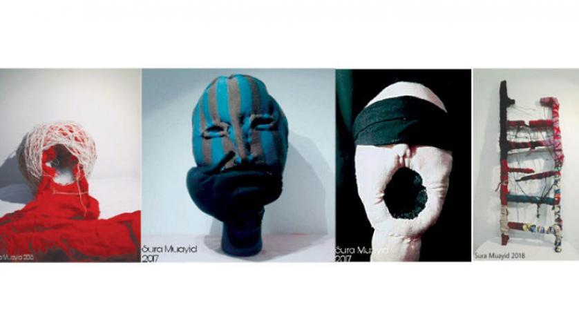 آثار تجسمی پنهانکار نمایشگاه سُری مؤید سخن میگویند