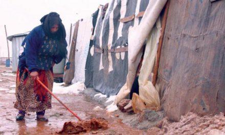پناهندگان در لبنان حلقه ضعیف در برابر تندباد «نورما»