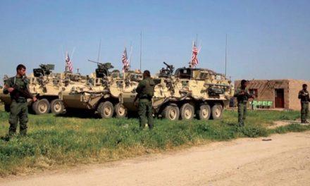 خروج کامیون های نظامی آمریکا از سوریه آغاز شد