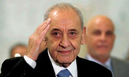 پیشنهاد بری: نشست اقتصادی عربی در بیروت به دلیل غیبت سوریه به تأخیر بیفتد