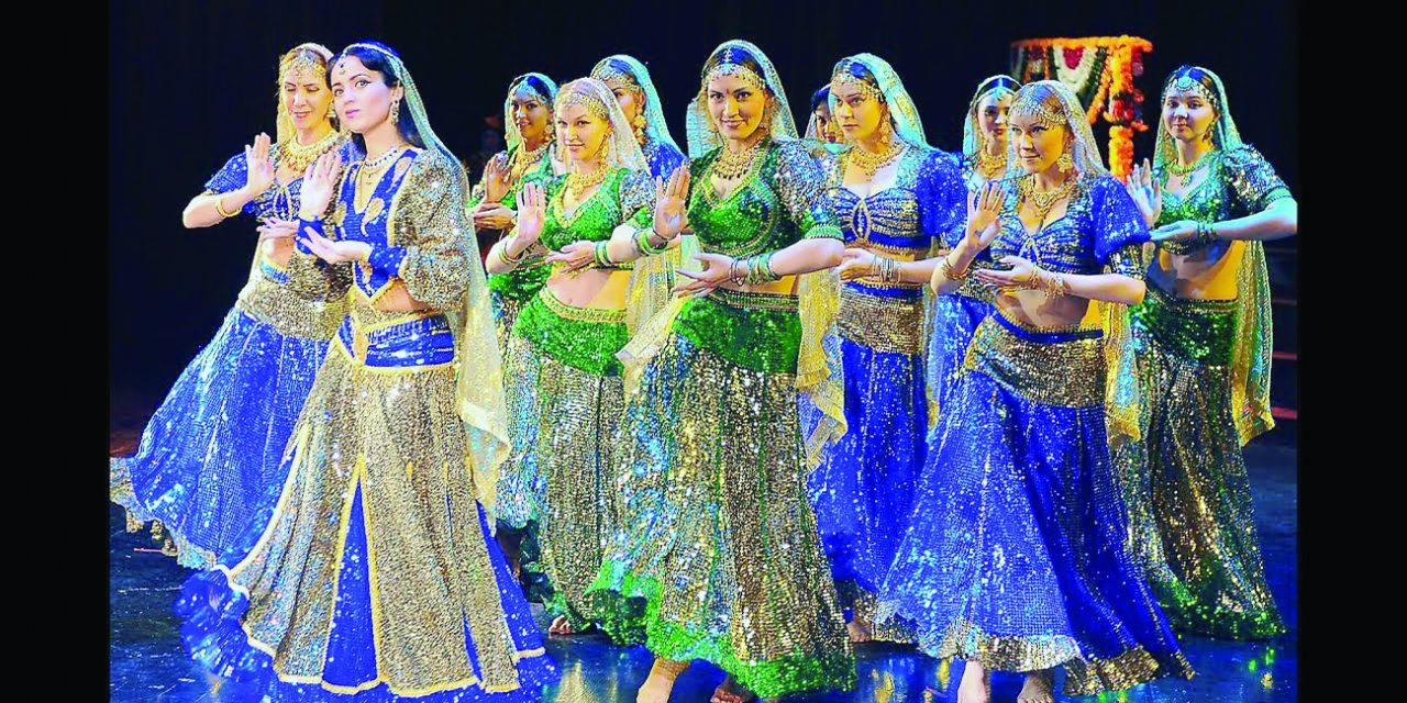 آموزش رقص هندی این بار در اردن