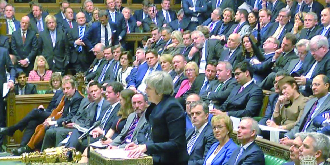 با اکثریت قاطع آرا.. پارلمان بریتانیا طرح «برکسیت» را رد کرد