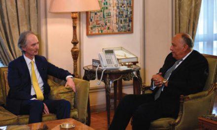 فرستادهٔ جدید سازمان ملل در امور سوریه به قاهره رسید