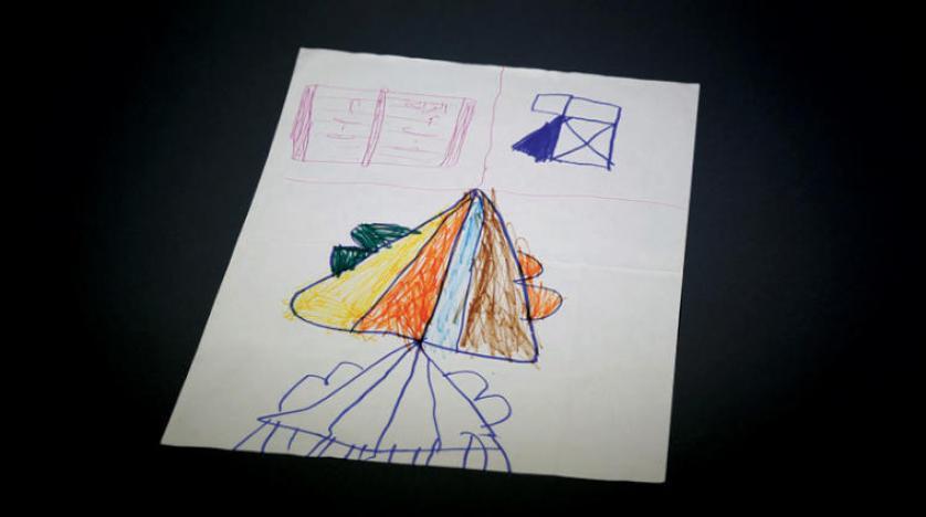 نمایشگاه کودکان سوریه در سارایوو