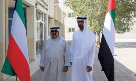 محمد بن زائد مسائل منطقهای و بینالمللی را با وزیر دفاع کویت بررسی کرد