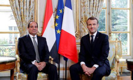 سفر مکرون به مصر با چاشنی پروندههای سیاسی