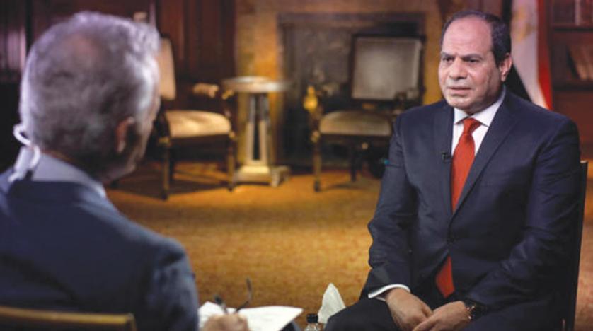 نارضایتی مصریها از شبکه سی بی اس به دلیل دستکاری مصاحبه السیسی