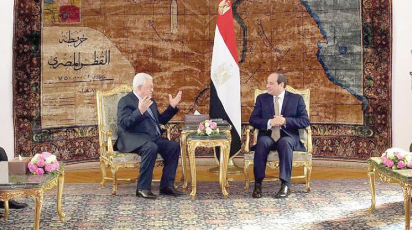 السیسی و عباس پرونده آشتی فلسطینی را بررسی کردند
