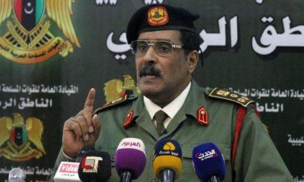 یک مقام ارتش لیبی: ترکیه مقصر اصلی هرج و مرج در لیبی است
