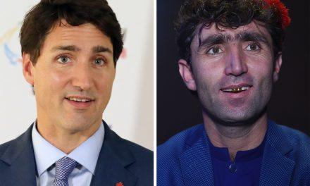 شهرت شهروند افغانی به دلیل شباهت چهره با نخست وزیر کانادا