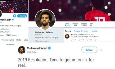 اقدام عجیب محمد صلاح؛ اکانتهایش در فیسبوک و توییتر را غیرفعال کرد