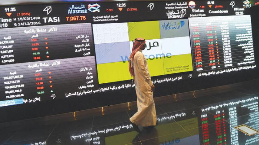 رشد صد واحدی شاخص بازار سهام سعودی در شروع هفته