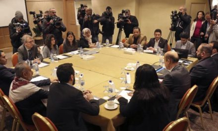 آغاز نشست نمایندگان دولت یمن و گروه کودتاچی در اردن