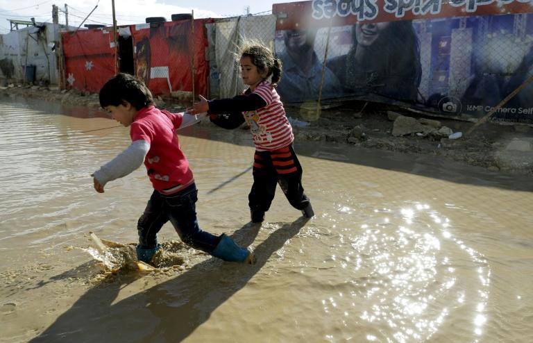 پناهجویان سوری در لبنان؛ گرفتار سرمای بی رحم زمستان