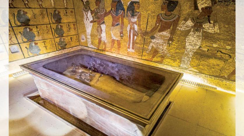 شناسایی شهاب سنگ آهنی در مقبره توت عنخ آمون
