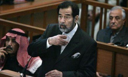 محضر رسمی اعدام صدام منتشر شد